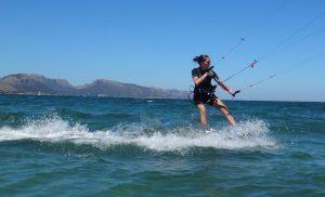 letze kite stunde lernen kitekurse Mallorca