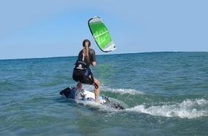 cours de nos leçons de kitesurf