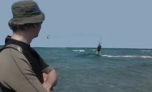 dernière étape de notre kite course