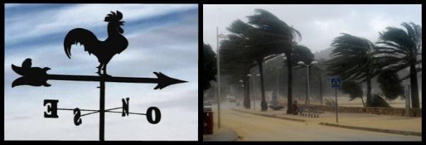 Llebech Winde aus Südwesten auf Mallorca