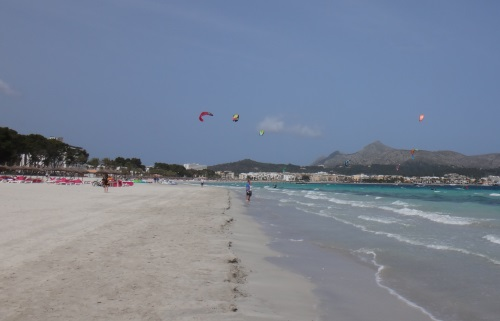 1 Alcudia école de kitesurf école de kitesurf mallorca apprendre kitesurf en juillet