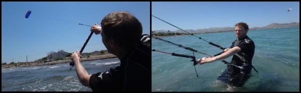1 Kite unterricht im Mai in Alcudia Mallorca mit Peder