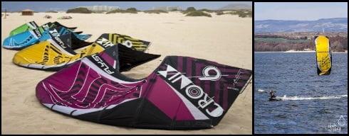 1 flysurfer first tube kite Die Cronix Mallorca Kiteschule