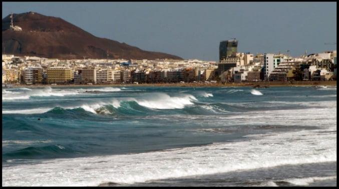 2 Las puntillas playa de las Canteras surf kitesurfing mallorca blog en Agosto