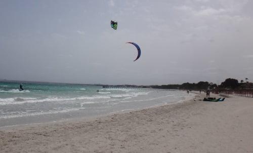 3 SSW vent Alcudia ecole kitesurfing mallorca apprendre kitesurf juillet