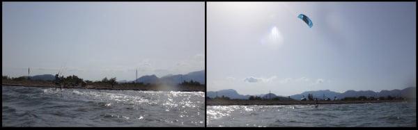 3 wind auf mallorca mit Oriol anfänger kiten lernen Alcudia Pollensa