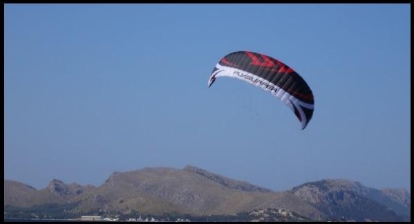 4 Speed 4 standar flysurfer kite school mallorca in April