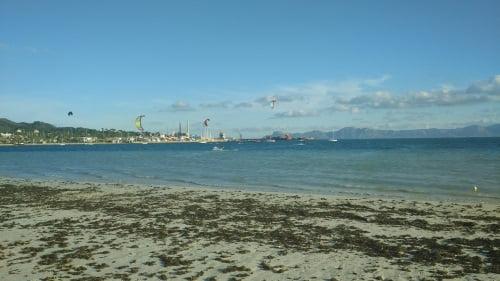 6 4SW vent à Alcudia kitesurfing club a Majorque apprendre le kitesurf en juillet