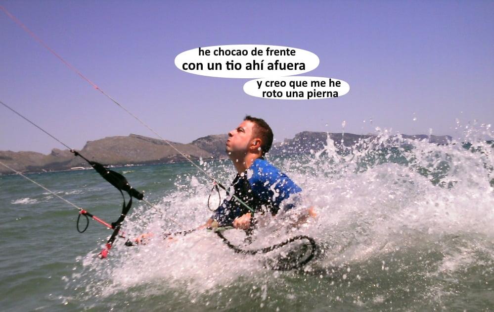 bodydrag cursos de kite en Alcudia en Junio