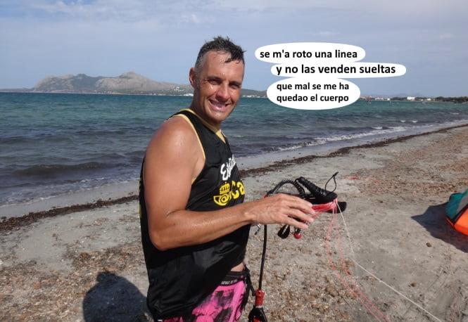 comprar kite usado en Mallorca