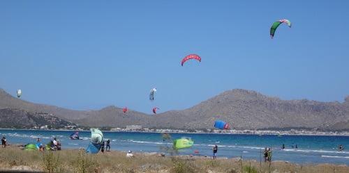leçons de kite a Majorque avec mallorca kiteschool com