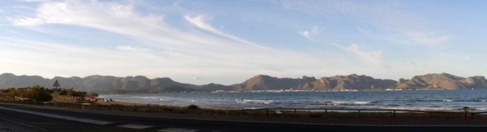 Le spot de kitesurf a Majorque Baie de Pollensa