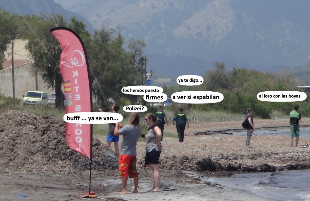 playa de Sa Marina clases de kitesurf en mallorca mejor precio