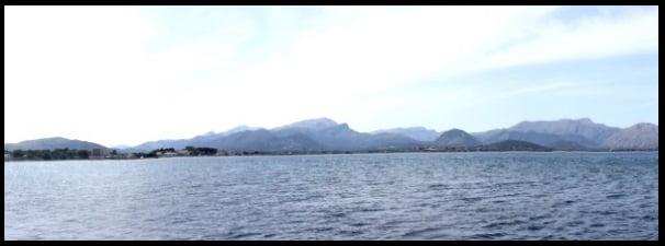 preparing downwind to learn waterstart in Mallorca