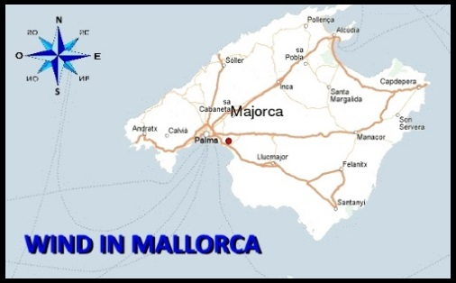 wind in Mallorca accurate weather report daily