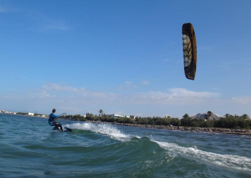 Русская кайт-школа-кайтсерфинг mallorca kite beach Pollentia Club-Resort Mallorca