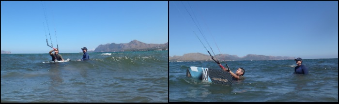 1 Leçons de kitesurf en 3 jours an Majorque en Aout