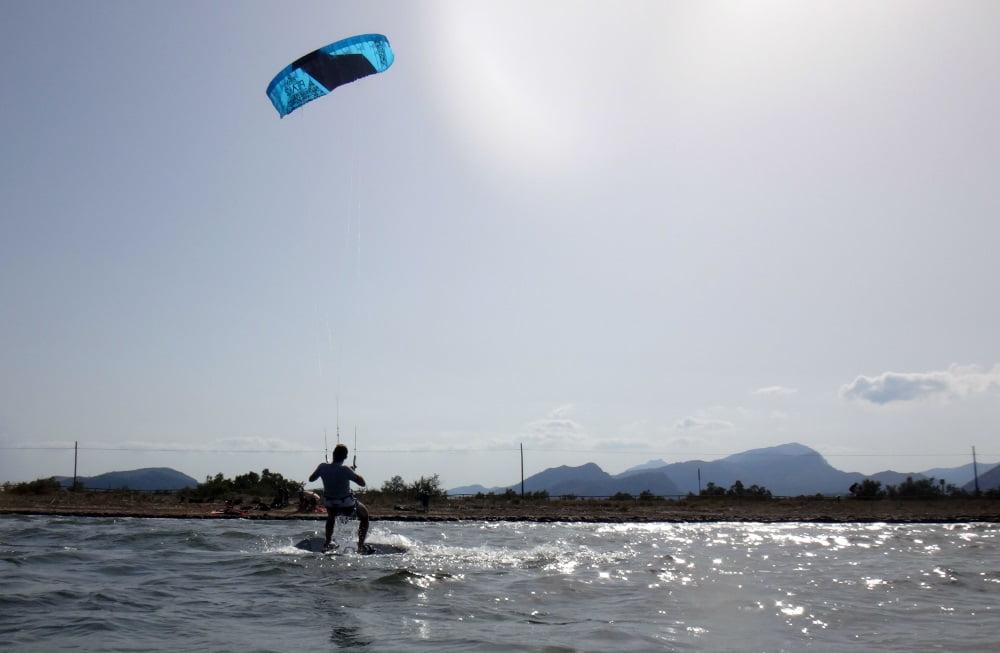 1 Oriol kite lessons in mallorca in June