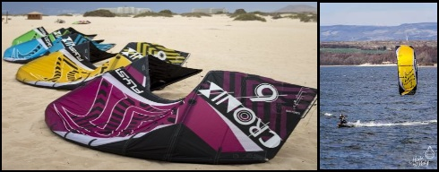 1 flysurfer first tube kite The Cronix Mallorca kiteschool
