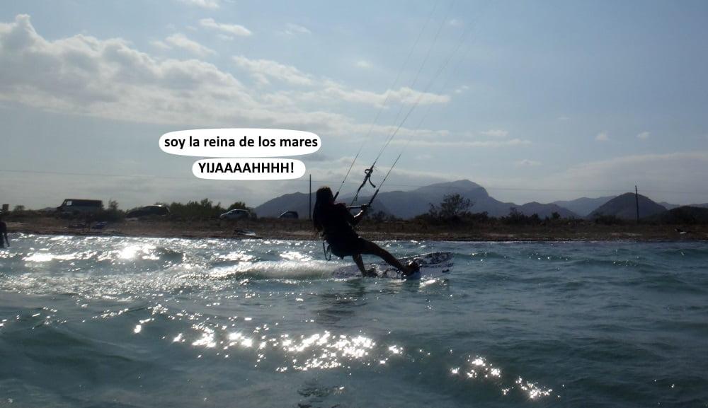 12 Pollensa kitesurfing Mallorca aprender a navegar con Carlos