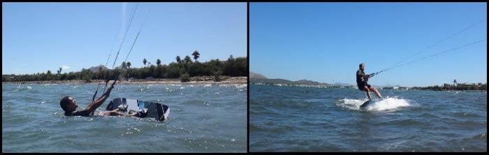 2 Pendant 3 jours de stage de kitesurf on peut apprendre Majorque kite course en Aout