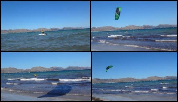 2 cours de kitesurf a Majorque kite spot à Pollensa Majorque Aoùt