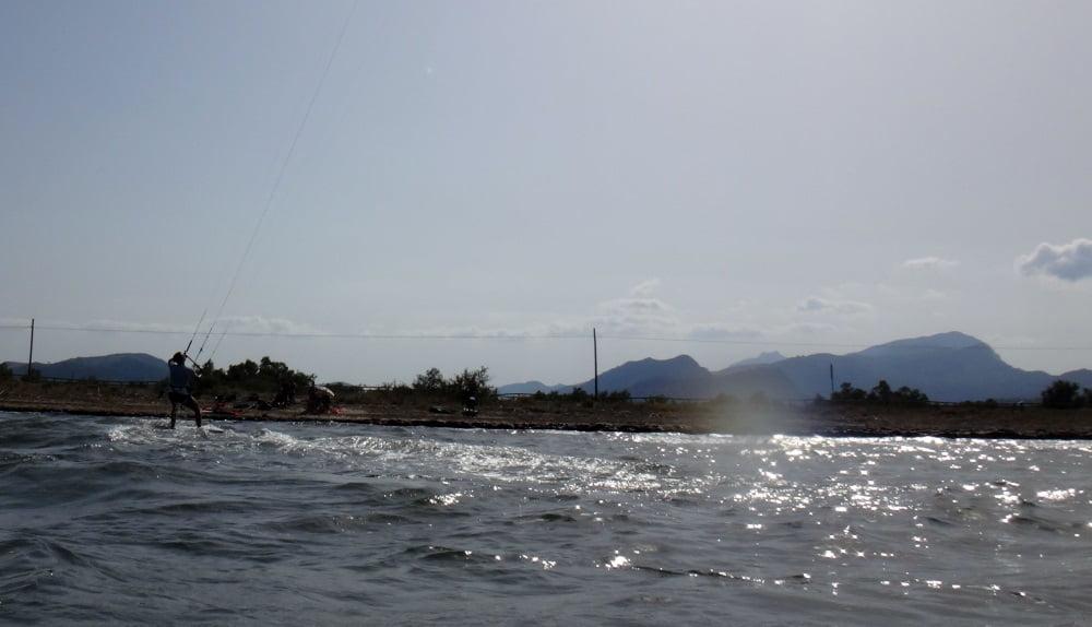 2 mallorca kiteschool flysurfer kite board and good results