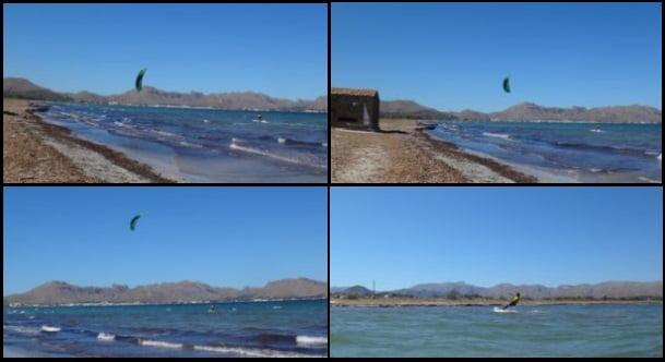 3 Hamza apprendre kite a Majorque en Août avec mallorca kiteschool