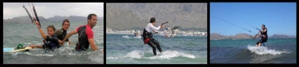 3 Majorque en Juin course de kite en francais