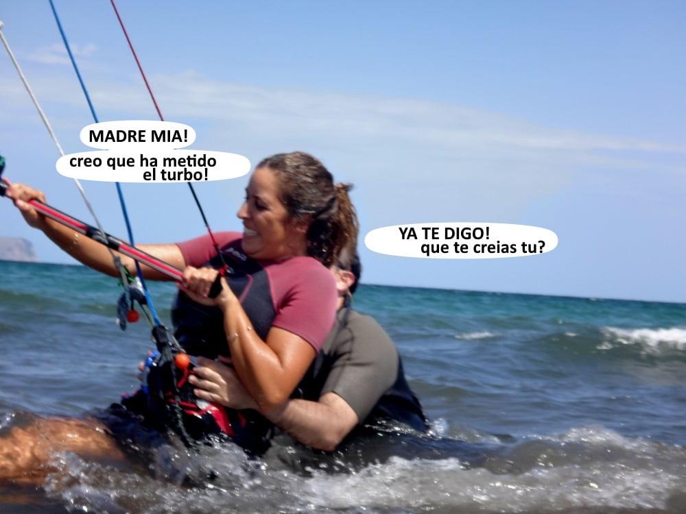 5 clases de kite en Can Pastilla y Alcudia Kitesurfing mallorca escuela