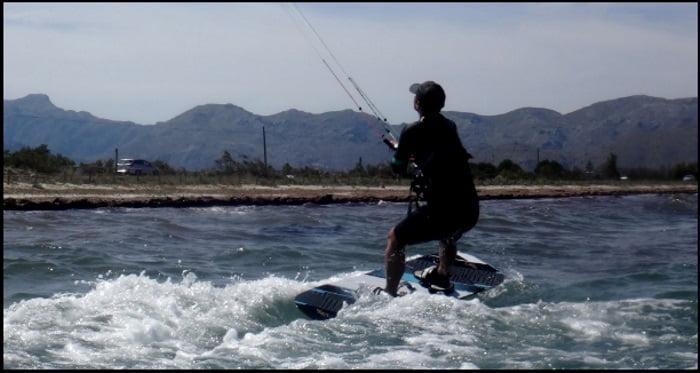 6 kitesurf Puerto Pollensa kiteschool Kitesurfing en mallorca Krisztina curso en julio