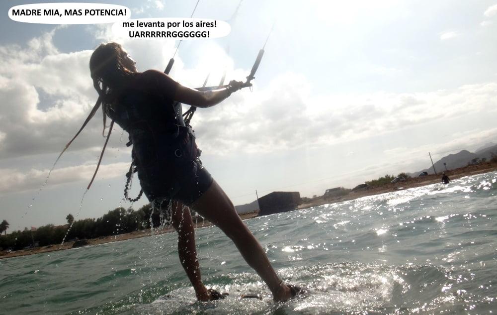 8 Carlos Bea y el ruso leciones de kite en Mallorca