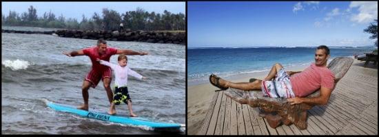8 jouer avec l'enfant kiteblog et faire de surf ecole de kite à Majorque