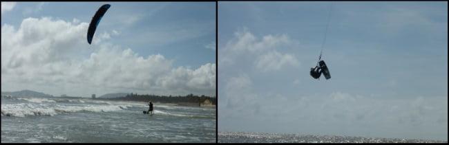 9 maintenant je dois aller à la mer, je pense qu'il ya du vent kitesurfing ecole a Majorque