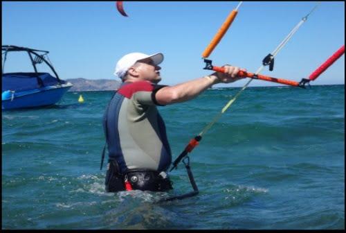 Conditions de vent et de la mer parfaites pour faciliter votre apprentissage