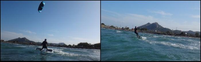 Sa Marina curso de kite en Palma de Mallorca con Agnieszka