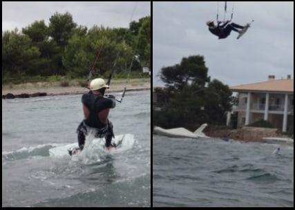 ecole de kitesurf a Majorque Les vents du nord-est qui soufflent en août