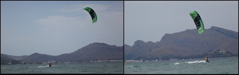 training your first waterstarts mallorca kiteschool course month of July Pollensa
