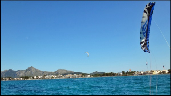 kite course en eté our thermals are starting to fall en Septembre