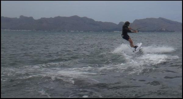 nuevo miembro en nuestro club de kite Asociacion Aprende a Navegar