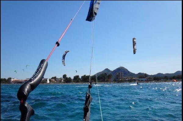 vent a Majorque le vent a atteint 14 noeuds vers 13h