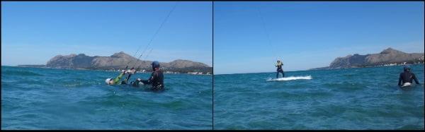 1 Cornelius deportes de playa kitesurfing mallorca la escuela en Pollensa