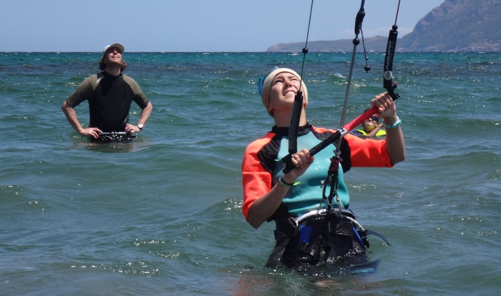 1 Lilly kite course in Mallorca in July