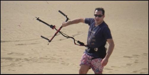 1-primera-hora-clases-kitesurf-Palma-de-Mallorca-kitesurfing mallorca com