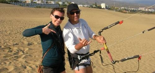 10 la fotografa y el kiter mallorca escuela de kite