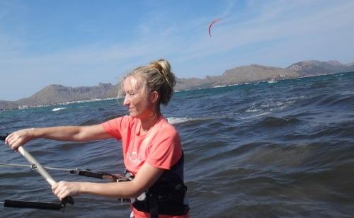 10 salta salta salta pequeña langosta kitesurf en mallorca