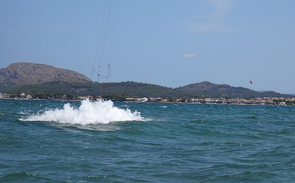 102 mallorca curso de kitesurf Pollensa y Alcudia
