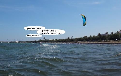 11 Dani calamity deshaciendo honor al nombre kite school mallorca