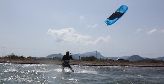 11 Daphne con flysurfer peak
