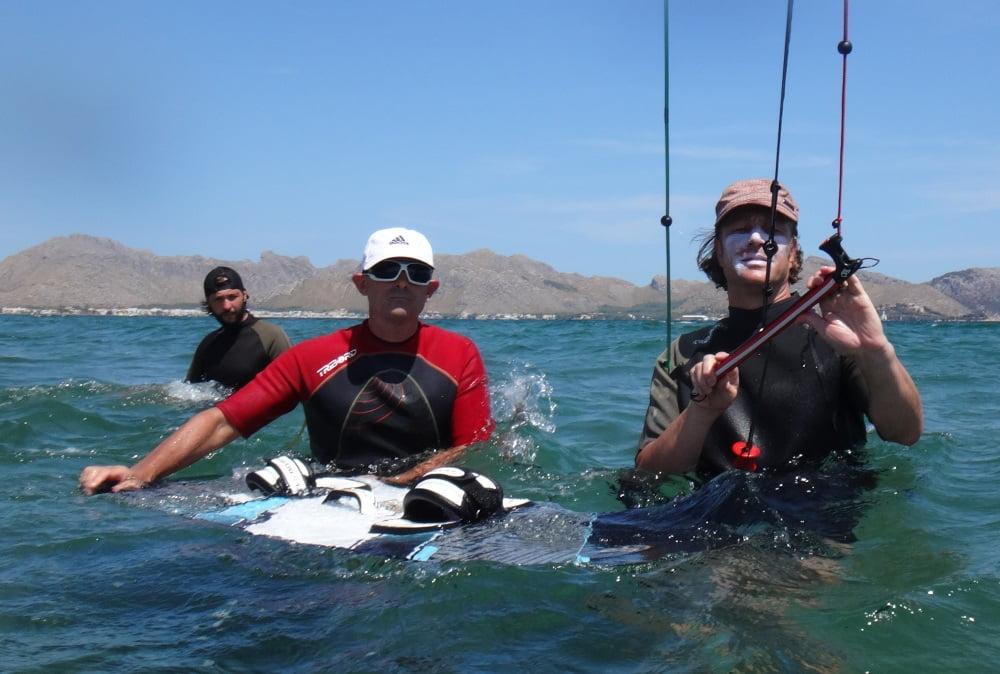 110 waterstart clases en Mallorca Harald